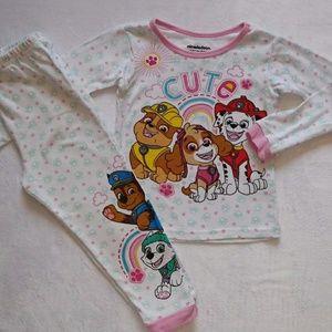 Paw Patrol Toddler Girl Pajama Set